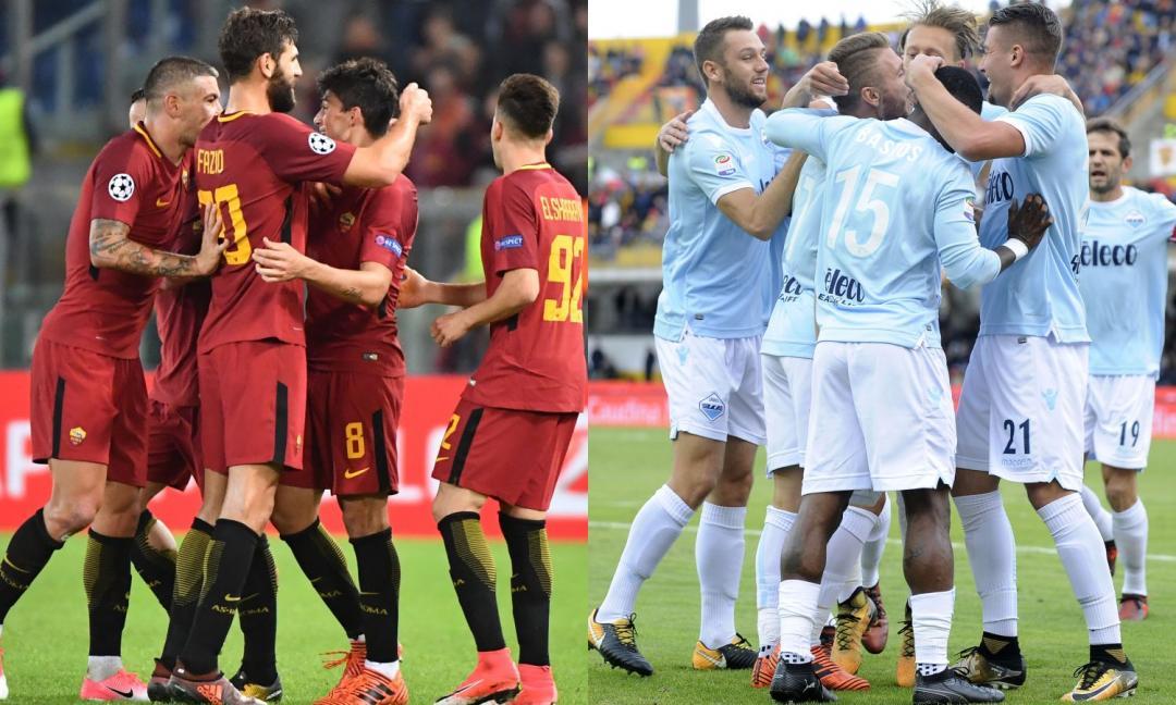 Roma e Lazio mai così lontane