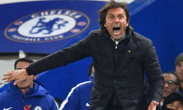 Urla, 'fa gol', esulta e non dà la mano a Mou: Conte rinasce col suo Chelsea