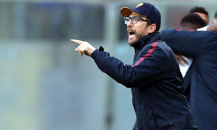 Roma, Di Francesco: 'Il derby mi fece tremare le gambe. Su Nainggolan decidiamo all'ultimo, Schick...'