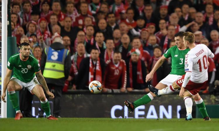 Eriksen porta la Danimarca in Russia con una tripletta da sogno: 5-1 all'Irlanda