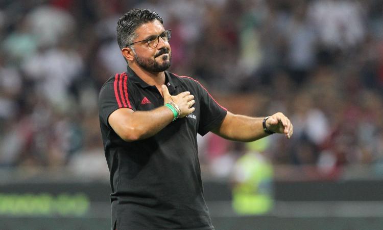 Milan, Gattuso conferma l'undici titolare: un solo ballottaggio