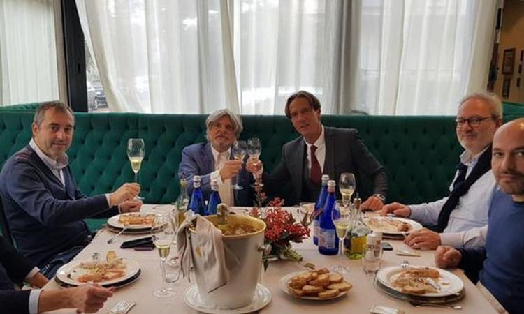 Samp, Ferrero: 'Giampaolo? Questa è una famiglia, il Milan no...'