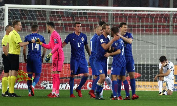 Svizzera ai Mondiali grazie a Rodriguez. 0-0 in Grecia, Croazia qualificata