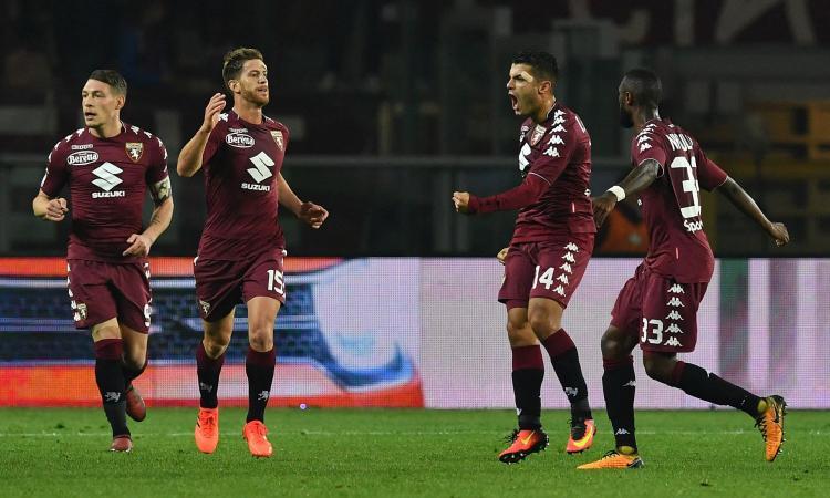 Torino, niente turnover contro il Milan