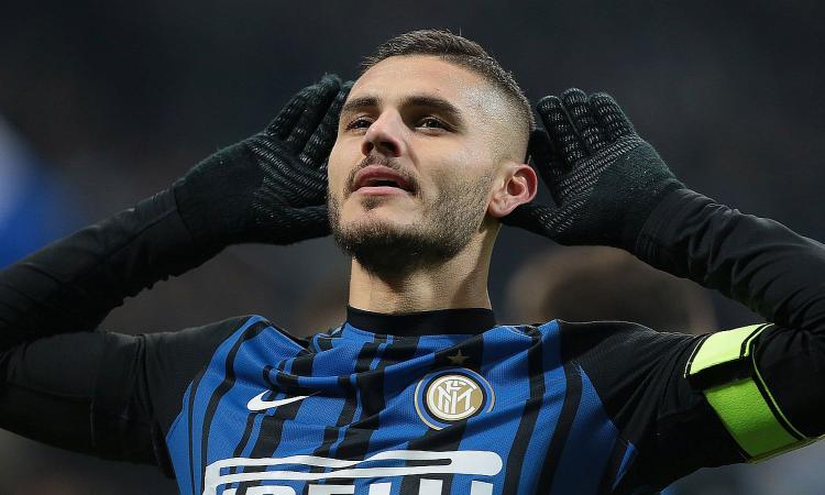 Inter, un Icardi strepitoso abbatte 2-0 l'Atalanta. Secondo posto e Napoli a -2