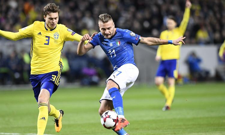 Svezia-Italia, le pagelle: Immobile un fantasma, si salva soltanto Buffon