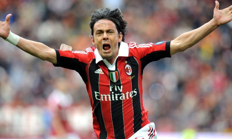 Inzaghi, riecco il Novara: gol, emozioni e ricordi nell'addio in lacrime al Milan