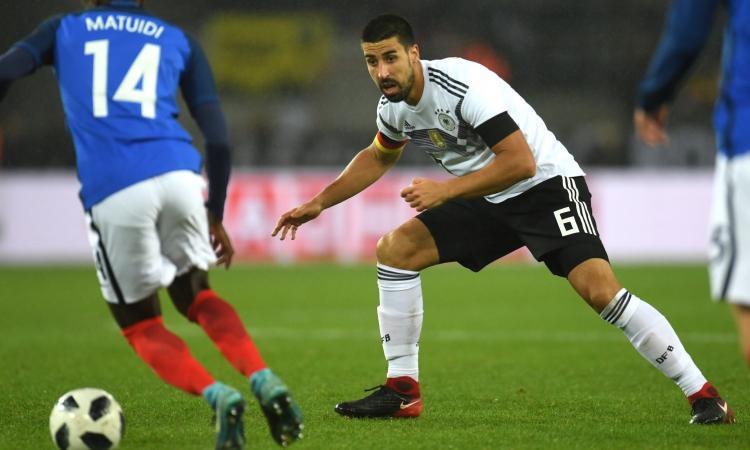 Khedira: 'Alla Juve ho lavorato tanto per tornare sul mio livello'
