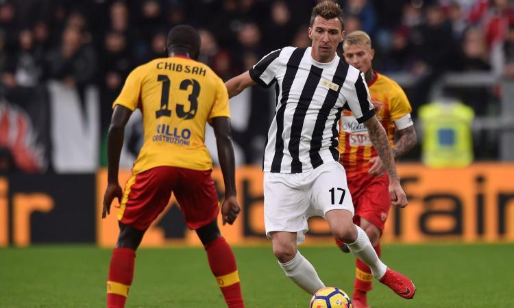 Juve in ansia per Mandzukic: è infortunato ma giocherà con la Croazia