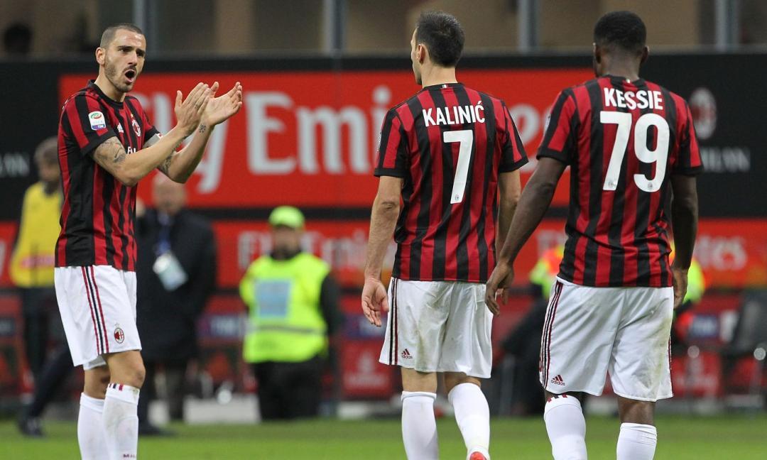 Le ufficiali di Benevento-Milan