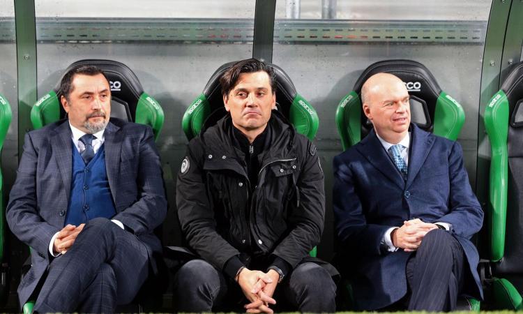 Un Milan mediocre vince ma non svolta: il futuro di Montella è segnato