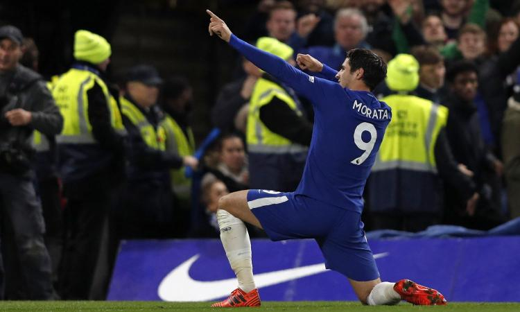 Juve, Morata spinge per tornare