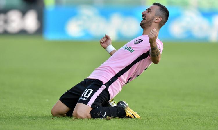 Serie B: poker Palermo al Carpi, il Brescia è a -1. Pari tra Crotone e Lecce