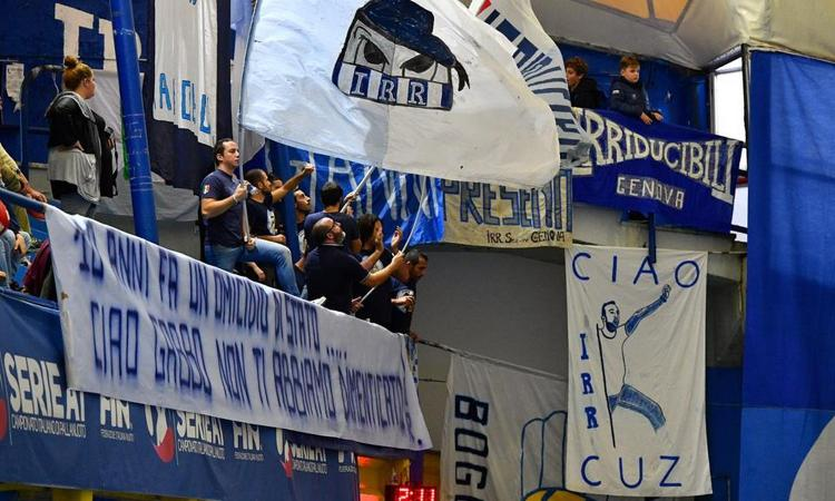 Lazio, anche il Bogliasco pallanuoto ricorda Gabriele Sandri