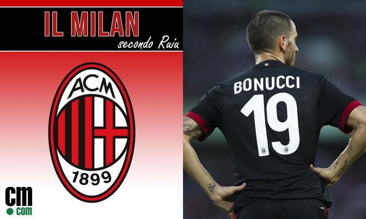 Milan, che flop Bonucci: con lui in campo, non ci sono partite facili