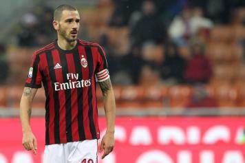 Bonucci Milan concentrato
