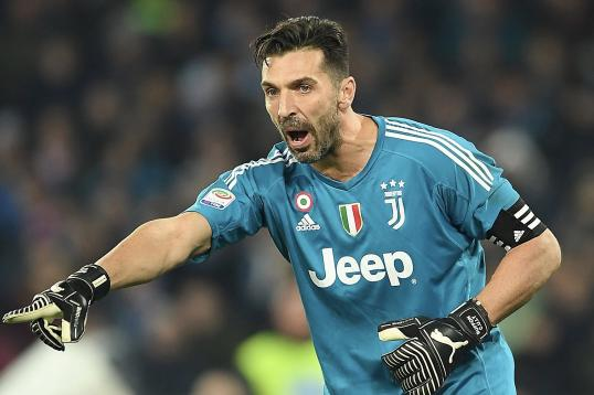 Watch: Gigi Buffon blames someone else for Spurs' leveller
