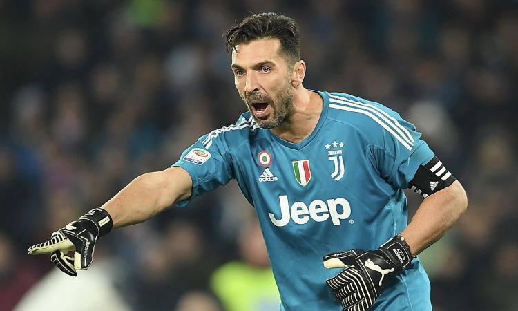 Buffon chiama Donnarumma: 'Vieni alla Juventus e non sbagli. L'addio di Bonucci? E' molto dispiaciuto'