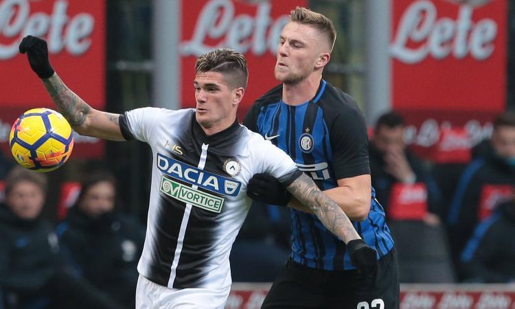 Udinese-Benevento, le formazioni ufficiali: Lasagna-De Paul contro Insigne