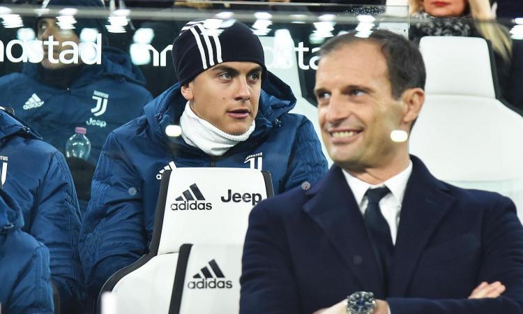 Juventus, Allegri come Heriberto Herrera: spinge Dybala verso la fuga