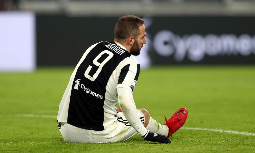 Juventus, l'eredità di Higuain pesa come un macigno