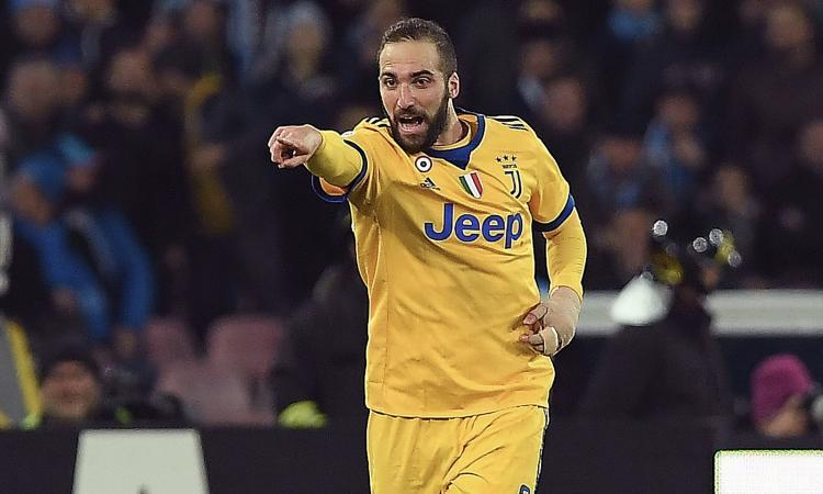 Juve, senti Higuain: 'Decidere di lasciare il Napoli non fu facile, ma oggi ne sono fiero'