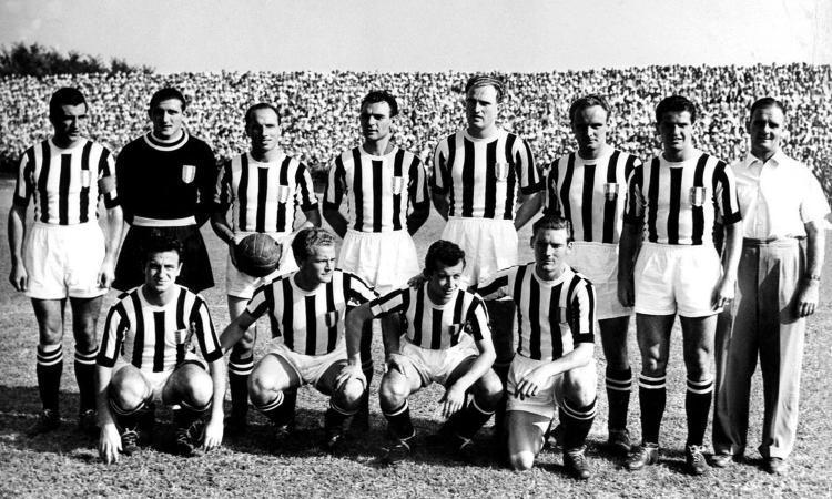 1950, Juventus-Roma 7-2: un discusso rigore dà il la alla rimonta bianconera