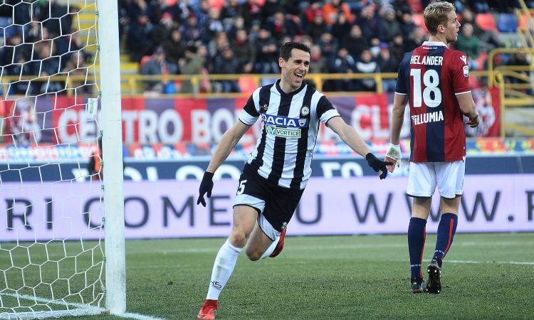 Udinese, i convocati per la Coppa Italia: ci sono Stryger Larsen e Lasagna