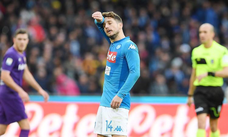 Napoli-Fiorentina 0-0, Sorrentino ferma la Roma. Pari Spal, Sassuolo ok