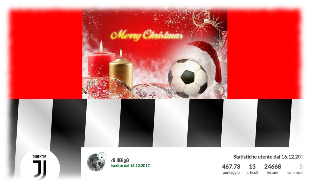 Juventus Buon Natale.Blog Buon Natale A Tutti I Blogger Bando Vince Lo Juventino Ilb Articolo Di Redazione Cm