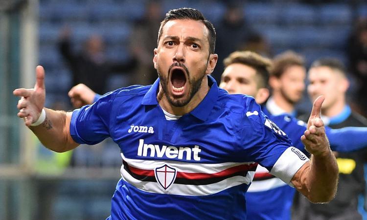 Sampdoria, c'è l'accordo per il rinnovo di Quagliarella