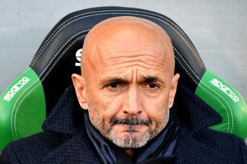Spalletti allenatore Inter concentrato
