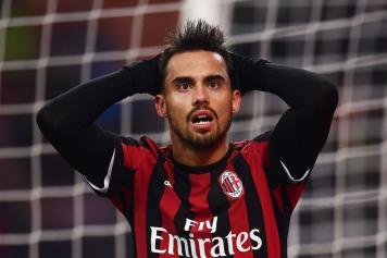 Suso disperato Milan