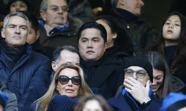 Thohir torna allo stadio e l'Inter perde: i social si scatenano...