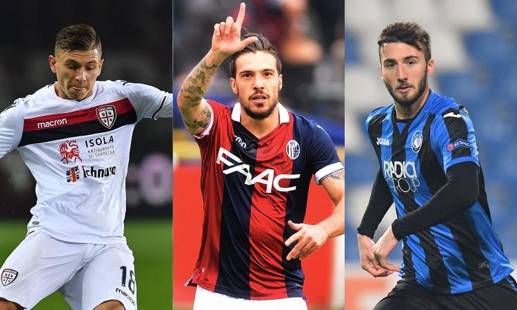 Inter, Juve e non solo: il rischio asta è altissimo per Verdi, Cristante e Barella