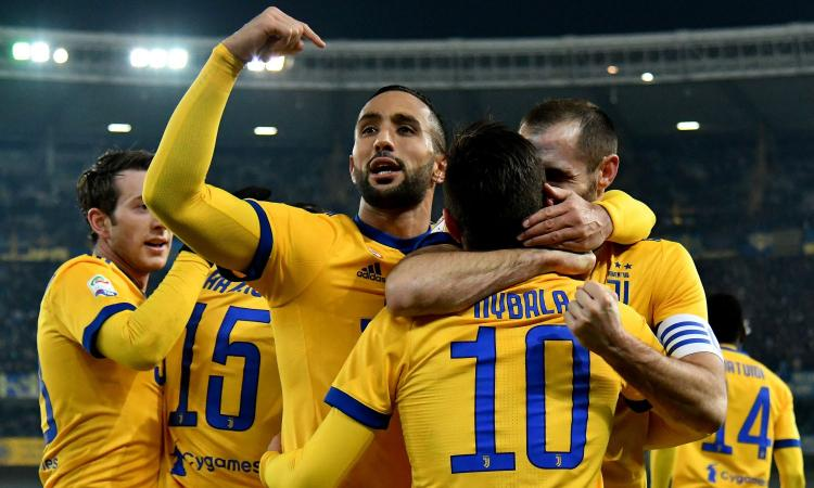 Verona-Juve 1-3: GOL & HIGHLIGHTS