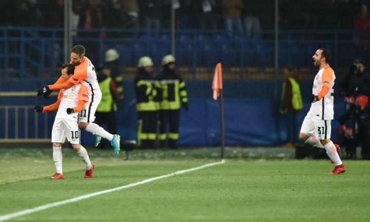 Champions: Shakhtar-City 2-1. Primo il Liverpool, Dortmund in Europa League