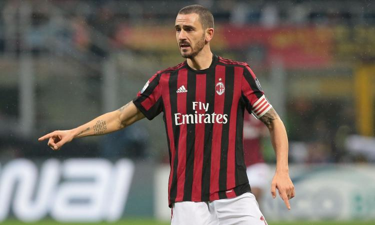 Bonucci, frase con messaggio alla Juve nel post-partita