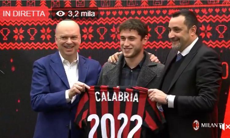 Milan, UFFICIALE: rinnova Calabria