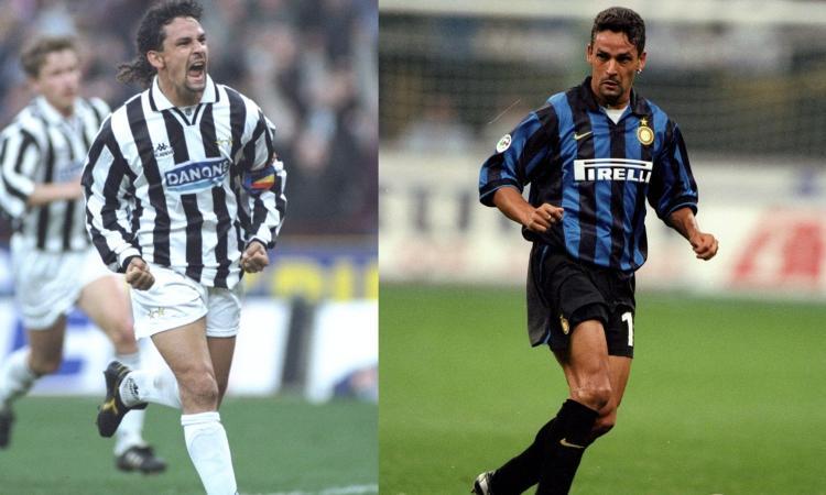 Da Herrera 'non Mago' a Baggio: quelli che... la storia infinita di Juve-Inter