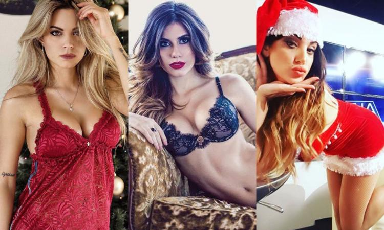 Da Ludovica a Marika e Ines: wags e tifose vip scaldano il Natale FOTO e VIDEO