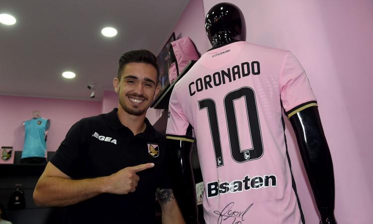 Numeri da 10 e gol 'photoshoppato': Palermo, Coronado è uno spettacolo!