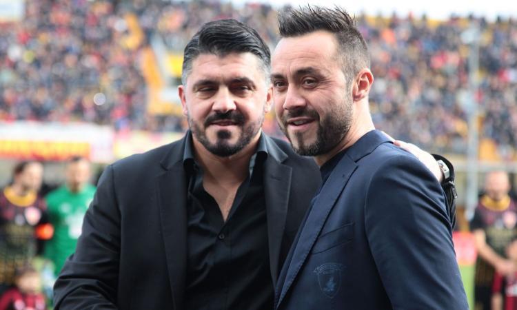 Benevento: due squadre su De Zerbi