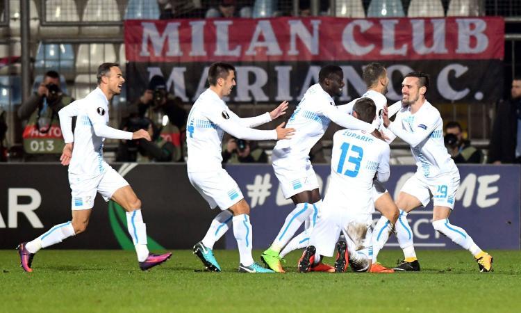 Disastro Milan: il Rijeka vince 2-0