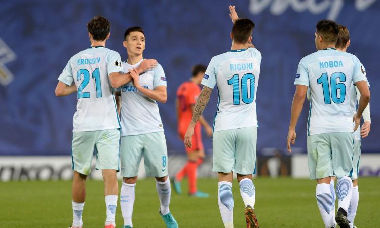 Europa League: Zenit primo, passano Marsiglia e Athletic. Tutte le qualificate