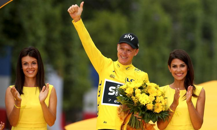 Ciclismo sotto shock: positivo Froome