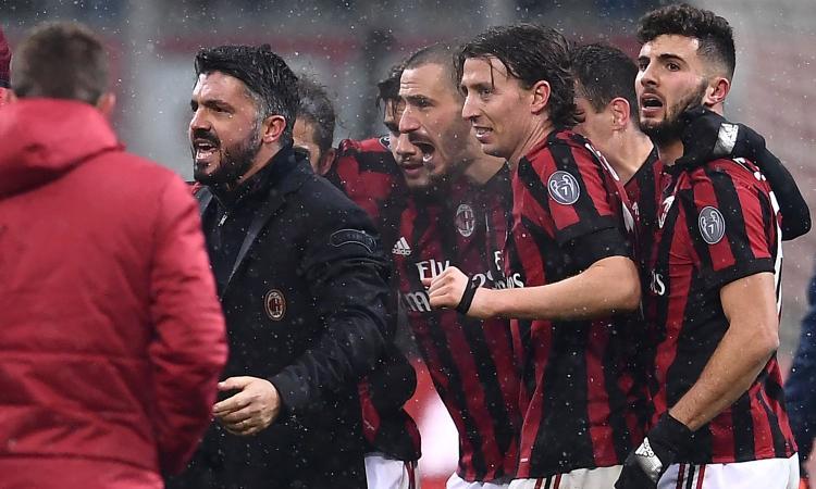 Milanmania: Gattuso, per uscire dalla crisi la cura è una sola: l'Inter