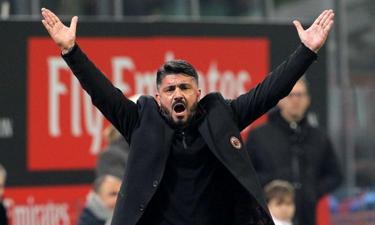 Milanmania: miracolo di Gattuso, ma è folle puntare al settimo posto