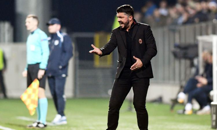 Gattuso: 'Che figuraccia, non sappiamo reagire! André Silva corpo estraneo'
