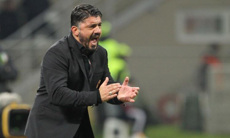 Milan, Gattuso non snobba l'Europa League: col Ludogorets tutti i titolari